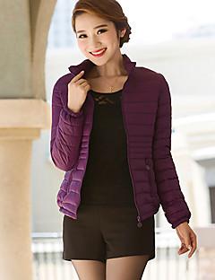 Women's Long Sleeve Parka Coat , Casual/Cute Others