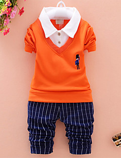 Boy's Cotton Blend Clothing Set , Spring/Fall Long Sleeve, kids Clothing,100% brand new and high quality
