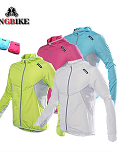 KINGBIKE® Cycling Jacket Women's / Men's / Kid's / Unisex Long Sleeve BikeBreathable / Quick Dry / Windproof / Ultraviolet Resistant /