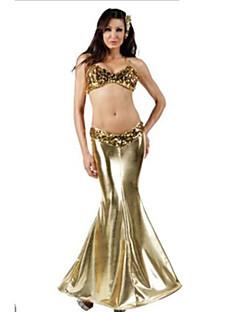 Sexy Mermaid Golden Sequin Halloween Female Fairytale Costumes