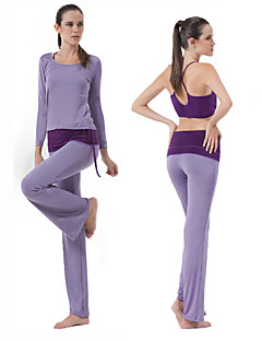 HaiYunLai® Women's Long Sleeve Running Pants/Trousers/Overtrousers Clothing Sets/Suits Breathable Spring Fall/Autumn Sports WearYoga