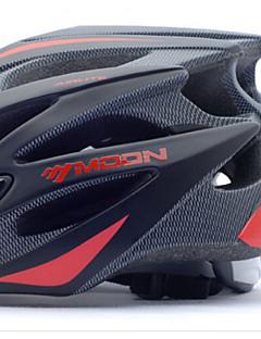 Capacete ( Vermelho / Preto / Azul , EPS + EPU ) - Montanha - Unisexo 21 Aberturas Ciclismo / Ciclismo de Montanha