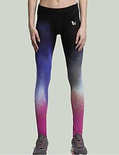 Yoga Pants Fundos / Calças / Meia-calça / Leggings Respirável / Secagem Rápida / wicking / Compressão / Materiais Leves CaídoElasticidade