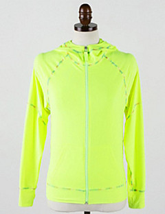 Running Jacket / Tops Women's Long Sleeve Moisture Permeability / Lightweight Materials Cotton / Terylene / ChinlonYoga / Camping &