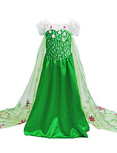 Cosplay Costumes/Party Costumes Halloween / Christmas / Children's Day Kid Princess Fairytale Costumes / Movie/TV Theme Costumes Costumes Dress
