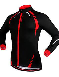 WOSAWE サイクリングジャケット 男女兼用 バイク ジャージー ジャケット トップス 保温 防風 フリースライナーつき 反射性ストリップ 防滑り フリース テリレン パッチワークキャンピング&ハイキング 釣り 登山 エクササイズ&フィットネス レジャースポーツ