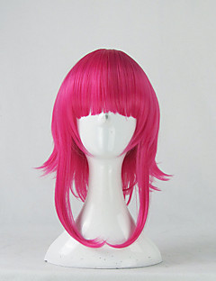 Cosplay Wigs LOL Annie Pink Short Anime/ Video Games Cosplay Wigs 35 CM Heat Resistant Fiber Male / Female