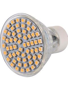 Spot LED Décorative Blanc Chaud / Blanc Froid 无 1 pièce MR16 GU10 6W 60 SMD 3528 540 LM AC 100-240 / AC 110-130 V