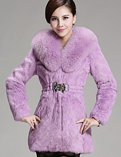 Women Rabbit Fur Top , Lined