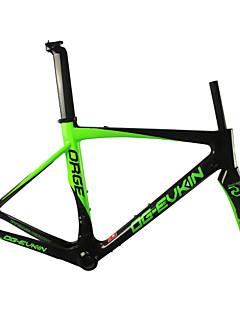 ORGE Road Frame Full Carbon Bike Frame 700C Glossy 3K 49/52/54/56cm