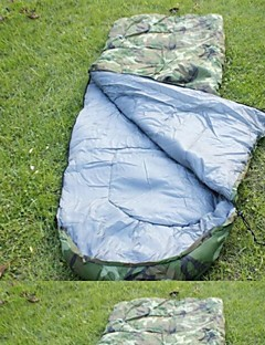 침낭 직사각형 침낭 싱글 면 210cm X 75cm 캠핑 / 바닷가 / 여행 / 수렵 수분 방지 / 먼지 방지 / 바람 방지 / 따뜻함 유지 / 울트라 라이트 (UL) / 추운 날씨