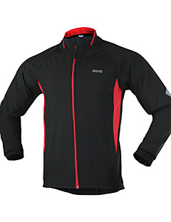 ARSUXEO® Cycling Jacket Men's Long Sleeve BikeBreathable / Thermal / Warm / Windproof / Anatomic Design / Ultraviolet Resistant /
