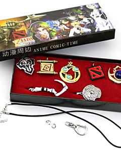 Jóias Inspirado por LOL Fantasias Anime/Games Acessórios de Cosplay Colares Dourado / Prateado Liga Masculino / Feminino