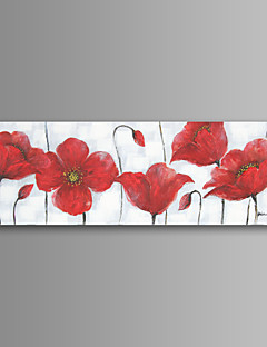 Flower Wall Art Canvas Print Ready To Hang 20*60 inch