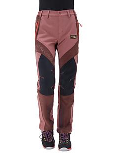 Naisten Softshell-housut Vedenkestävä Pidä lämpimänä Anatominen tyyli Kosteuden läpäisevä Käytettävä Hengittävä YKK vetoketju Pants