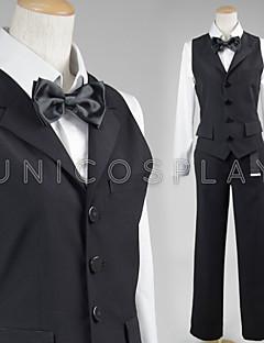 Durarara Cos Shizuo Heiwajima Cosplay Costume Bartender Suit Full Set