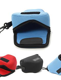 dengpin® neopren blød kamera beskyttende tilfælde taske pose til Panasonic DMC-GM5 gm1s 12-32mm linse (assorterede farver)