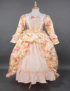 Steampunk®Top SALE Yellow Brocade Printing Lolita Rococo Prom Dress Marie Antoinette Inspired Dress Wholesalelolita Evening Dress
