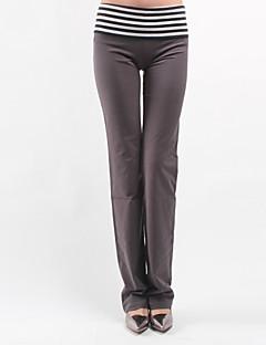 Pantaloni Da donna Sportivi Casual Cotone / Elastene Elasticizzato