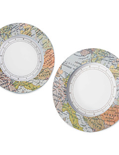"""""""Travel the World"""" mini world map photo frame, place card holder wedding decoration, Party décor"""