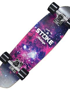 """26 """"x 7.2"""" Kreuzer Skateboard mit ABEC-9 Lager 60 x 45mm Räder Raum Grafik"""