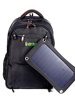 Glorysolar® 7Watts Solar Backpack/Solar Panel Bag/Solar Laptop Bag /Solar Panel Charger for Mobile Phones