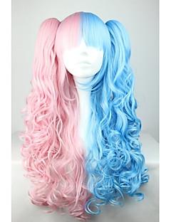 Lolita Wigs Sweet Lolita Růžová Lolita Lolita Paruky 70 CM Cosplay Paruky Patchwork Paruka Pro