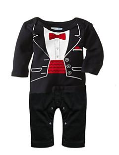 New Baby Boys Romper Newborn Gentleman Tie Suits Spring Autumn Infant Toddler Jumpsuit