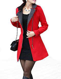 OZL®Women's Belt  Woolen Trench Coat(More Colors)