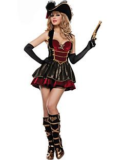 nye! ekstravagante Pirates of the Caribbean kaptajn Jack kostumer, Halloween kostumer til womenfor karneval