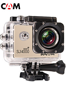 SJCAM SJ4000 WIFI Action Kamera / Sport-Kamera 12MP / 8MP / 2MP / 3MP / 5MP 1920 x 1080 Wasserdicht / Wifi 4X ± 2 EV 1.5 CMOS 32 GB H.264