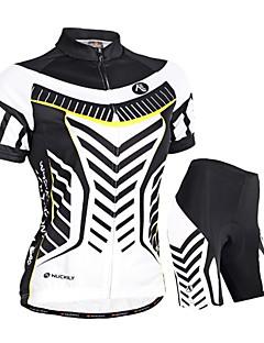 NUCKILY Kolo/Cyklistika Dres + kraťasy / Sady oblečení/Obleky Dámské / Unisex Krátké rukávyVoděodolný / Prodyšné / Odolný vůči UV záření