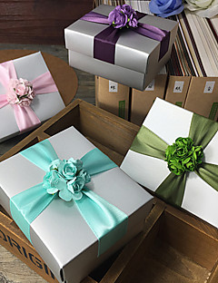 6 Piece/Set Favor Holder - Cuboid Card Paper Gift Boxes Non-personalised