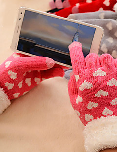 Damer Handsker Uldblanding Sødt / Casual