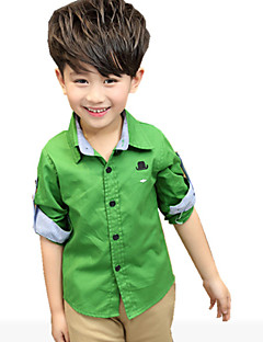 Boy's Cotton Shirt,Spring / Fall Solid