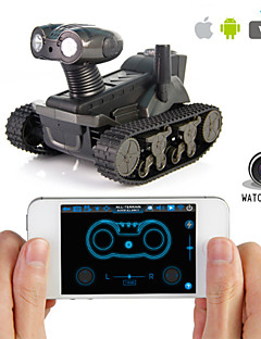 LT-728 Ios Ipad Android Iphone Control Remote Camera Military Tank Model Spy Toy Car