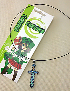 Creeper My World The Sword Alloy More Accessories Necklace