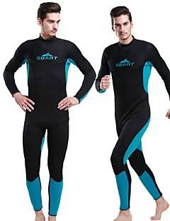 SBART Miesten 3mm Kuivapuvut Dive Skins Kokokehon märkäpuku Märkäpuvut Vedenkestävä Pidä lämpimänä Ultraviolettisäteilyn kestävä Täysin