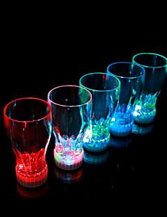 bunte LED-Blitz Koks-Glas (2 PC / 360ml)