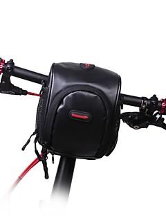 Pochete / Bolsa para Guidão de Bicicleta Acampar e Caminhar / Ciclismo Para Todos Celular ( Á Prova-de-Água / Vestível , Preto / Bisque ,