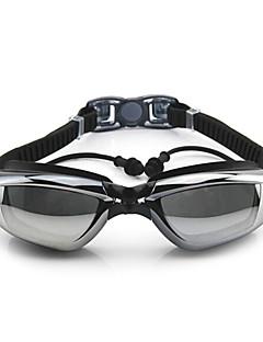 FEIUPE svømmebriller Dame Herre Unisex Anti-Tåge Vandtæt Justerbar Størrelse Anti-UV Silika Gele PC Hvid Grå Sort BlåLyserød Grå Sort