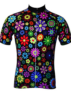 JESOCYCLING® Cycling Jersey Women's Short Sleeve BikeBreathable / Quick Dry / Ultraviolet Resistant / Antistatic / Back Pocket / Ultra