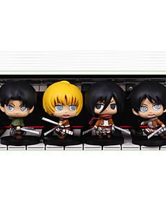 Attack on Titan Autres PVC One Size Figures Anime Action Jouets modèle Doll Toy