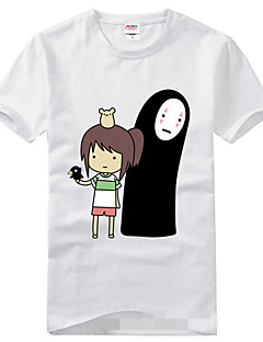 Ihlette Chihiro Szellemországban Szerepjáték Anime Szerepjáték jelmezek Cosplay póló Nyomtatott Rövid ujjú Póló Kompatibilitás Uniszex