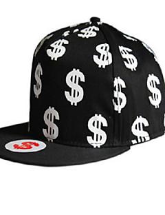 2016 European And American Hip-hop Baseball Cap Personality Dollar Coin
