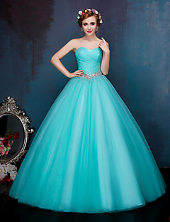 Formal Evening Dress Ball Gown Sweetheart Floor-length Tulle
