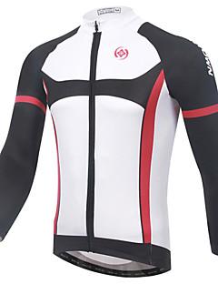XINTOWN® Cykeltrøje Herre Langt Ærme Cykel Åndbart Hurtigtørrende Ultraviolet Resistent Begrænser bakterier Trøje Toppe Tøjsæt/Jakkesæt