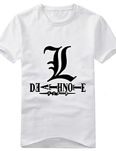 Disfraces Cosplay-Death Note- deYagami Raito-T-Shirt-