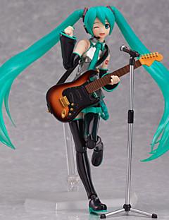 Vocaloid Hatsune Miku PVC One Size נתוני פעילות אנימה צעצועי דגם בובת צעצוע