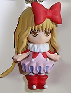 Shugo Chara Amu Hinamori 8CM Anime Action Figures Model Legetøj Doll Toy